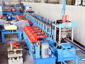 C/U Post Roll Forming Machine