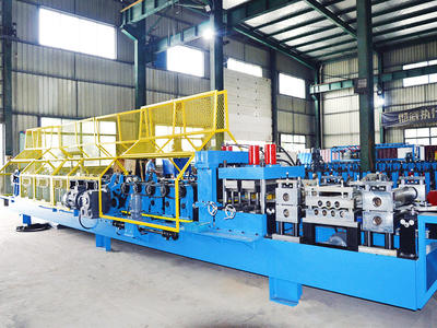 Automatic changeable CZ purlin roll forming machine