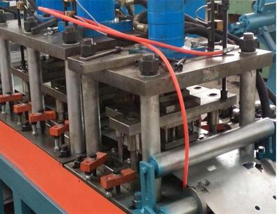 Fire Smoke Vane Damper Roll Forming Machine